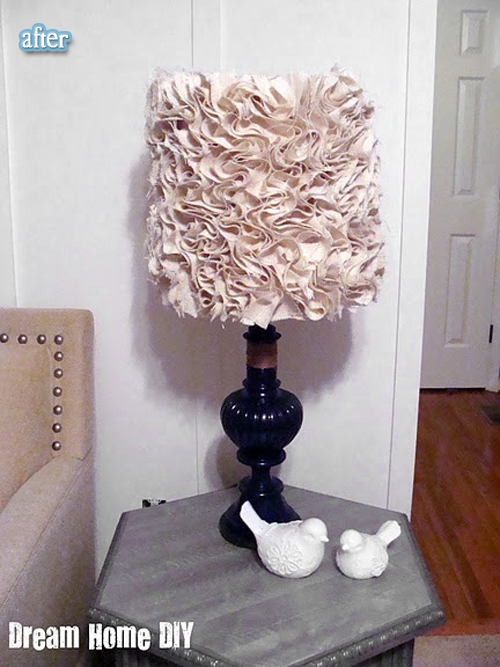 photo crafts ideas: glam lamp, gram!