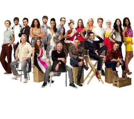 The 20 Project Runway Season 9 designers.