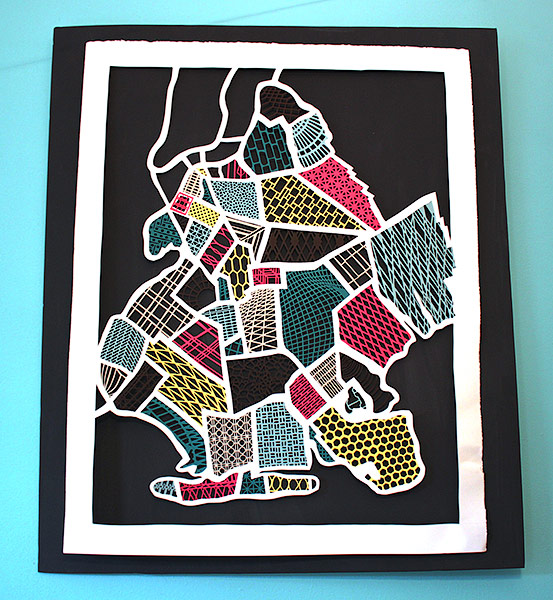 Brooklyn Map Paper Cuts