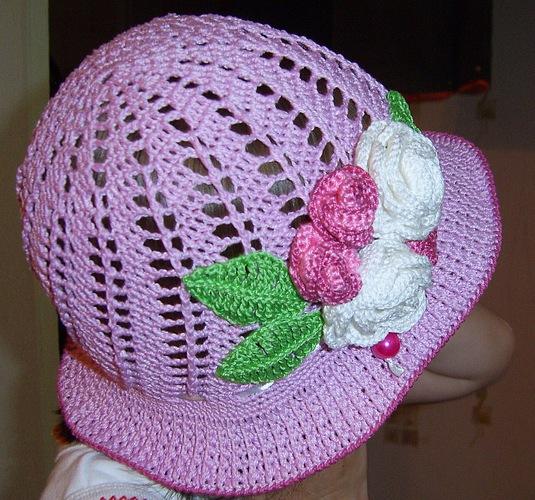Free Crochet Patterns Little Girl Hats : little girls crochet hat pattern free Car Tuning