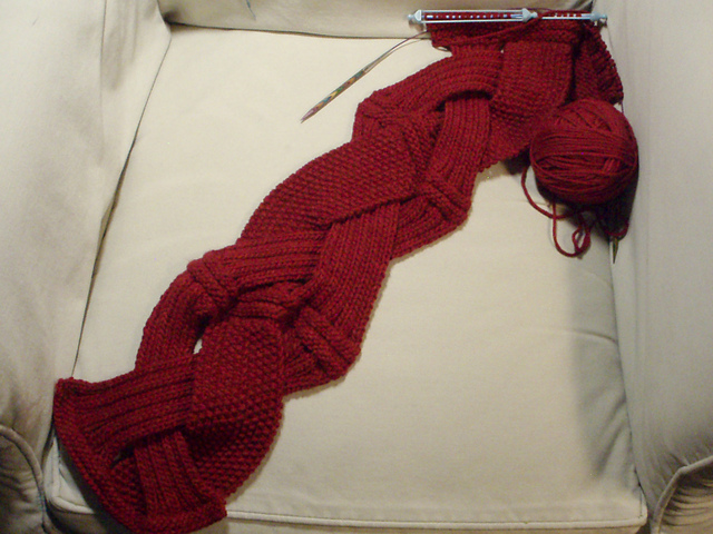 Challah Infinity Scarf Knitting Pattern Crafts Ideas