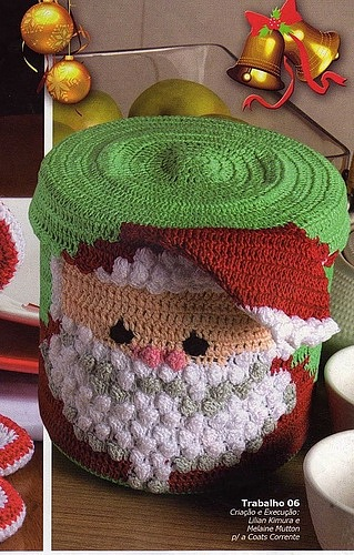 Crochet Patterns Ideas : craft ideas: crochet santa box, crochet patterns - crafts ideas ...