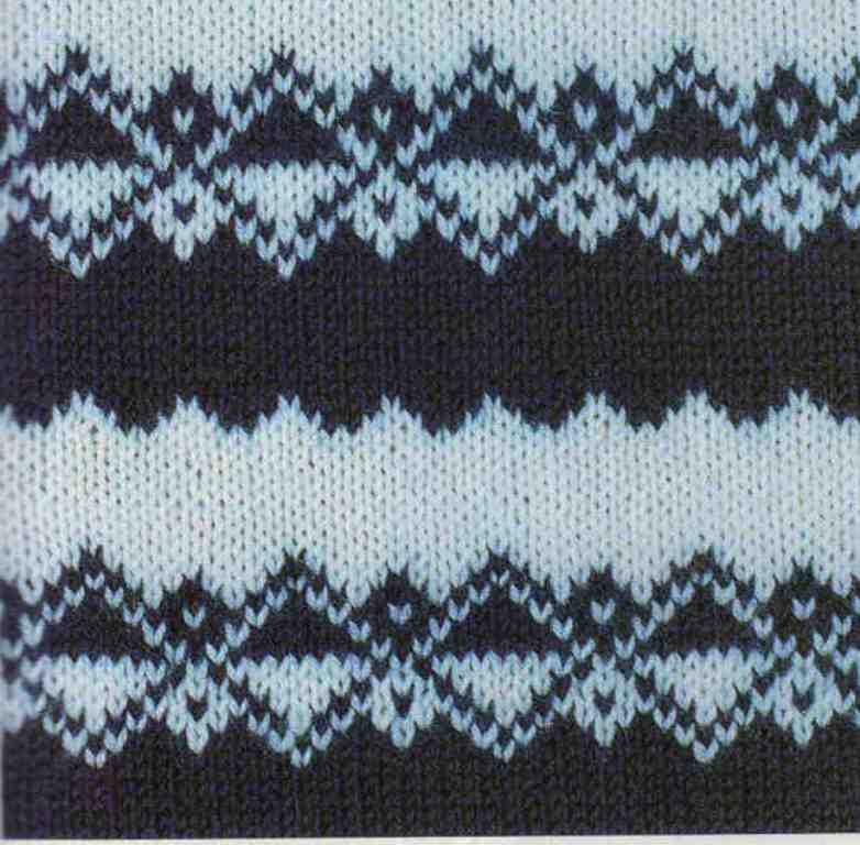 Jacquard Knitting Patterns : Contrast jacquard, knitting patterns ~ Craft , handmade blog