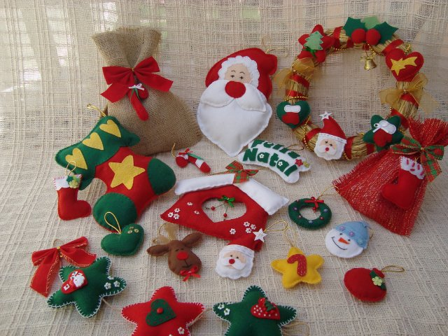 Christmas felt ornaments more ideas crafts ideas crafts for kids christmas felt ornaments more ideas solutioingenieria Gallery