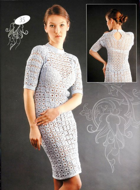 gift ideas for women: summer dress, free crochet patterns ...