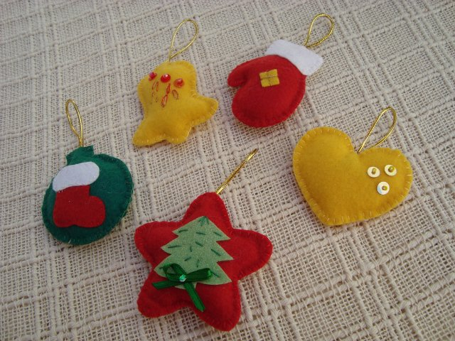 Christmas Felt Ornaments More Ideas Crafts Ideas Crafts For Kids