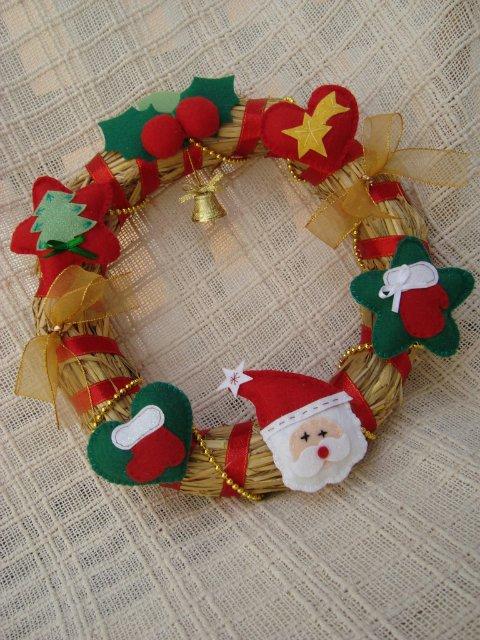 Christmas felt ornaments more ideas crafts ideas for Felt christmas crafts for kids