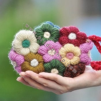 Flower Purse For Women Crochet Patterns Crafts Ideas Crafts For