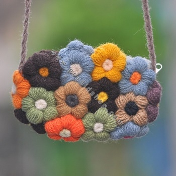 Crochet Flower Purse Pattern : flower purse for women, crochet patterns - crafts ideas - crafts for ...