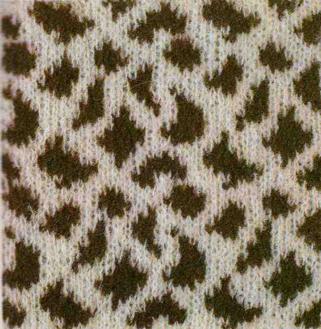Jacquard Knitting Patterns : jacquard animal skins, knitting patterns