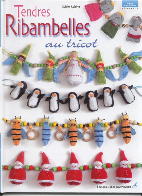 knitwear garland for new year …