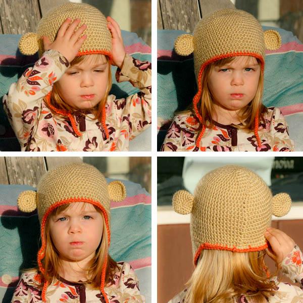 diy monkey hats, free crochet patterns - crafts ideas ...