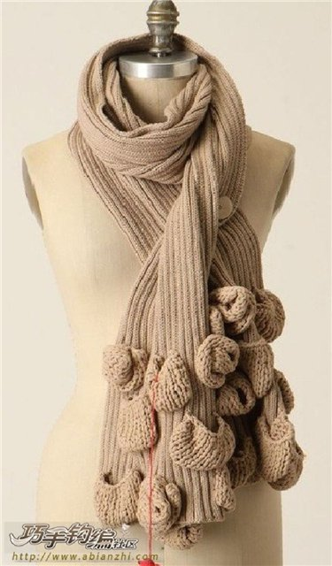 Knitting Patterns For Unusual Scarves : unique scarves ideas for women, knitting patterns - crafts ideas - crafts for...