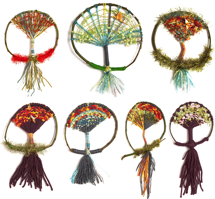 weaving tree life tutorial
