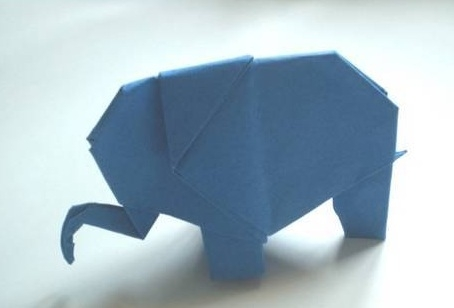 how to fold an elephant
