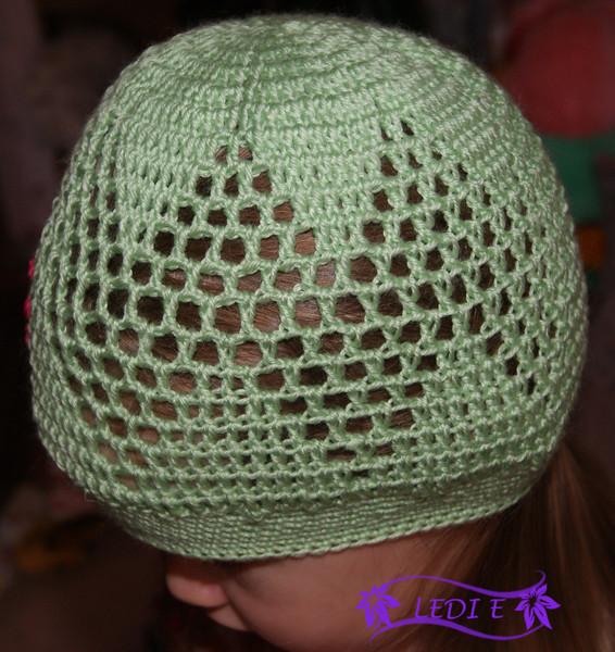 Free Crochet Patterns Little Girl Hats : Beautiful hat for little girls, free crochet patterns ...