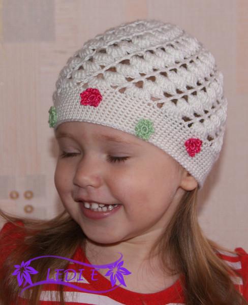 House Handmade Beautiful Hat For Little Girls Free