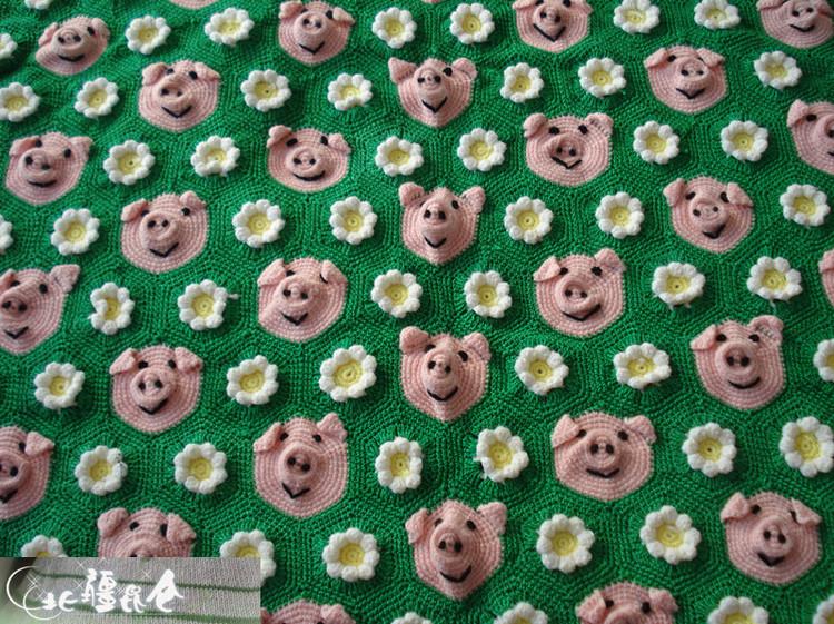 可爱的小猪抱毯 - 20154721 - 北疆昆仑的博客