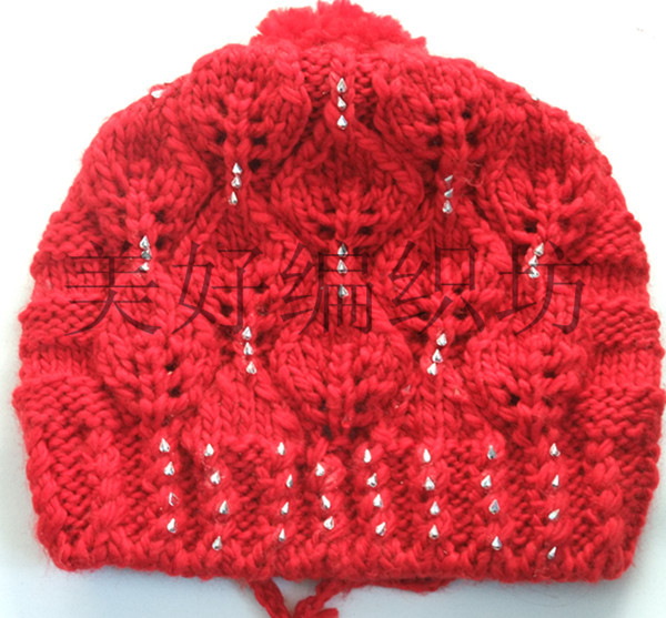 cute hat for girls, knitting patterns - crafts ideas - crafts for kids
