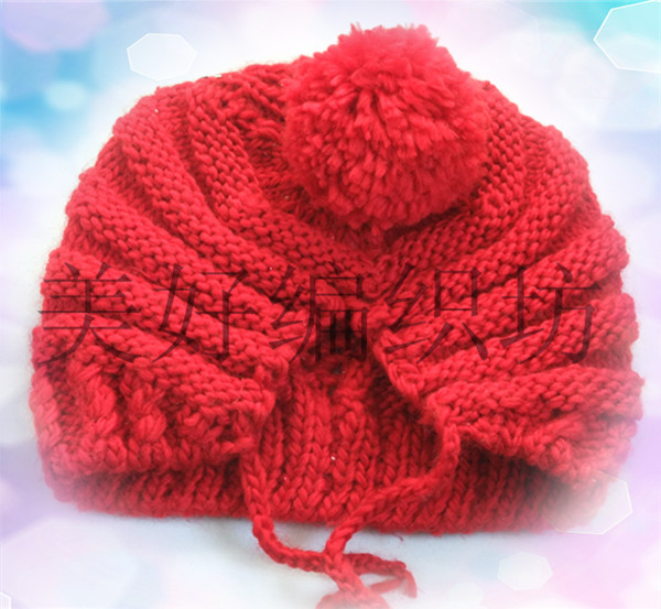 Cute Easy Knitting Ideas : Cute hat for girls knitting patterns crafts ideas
