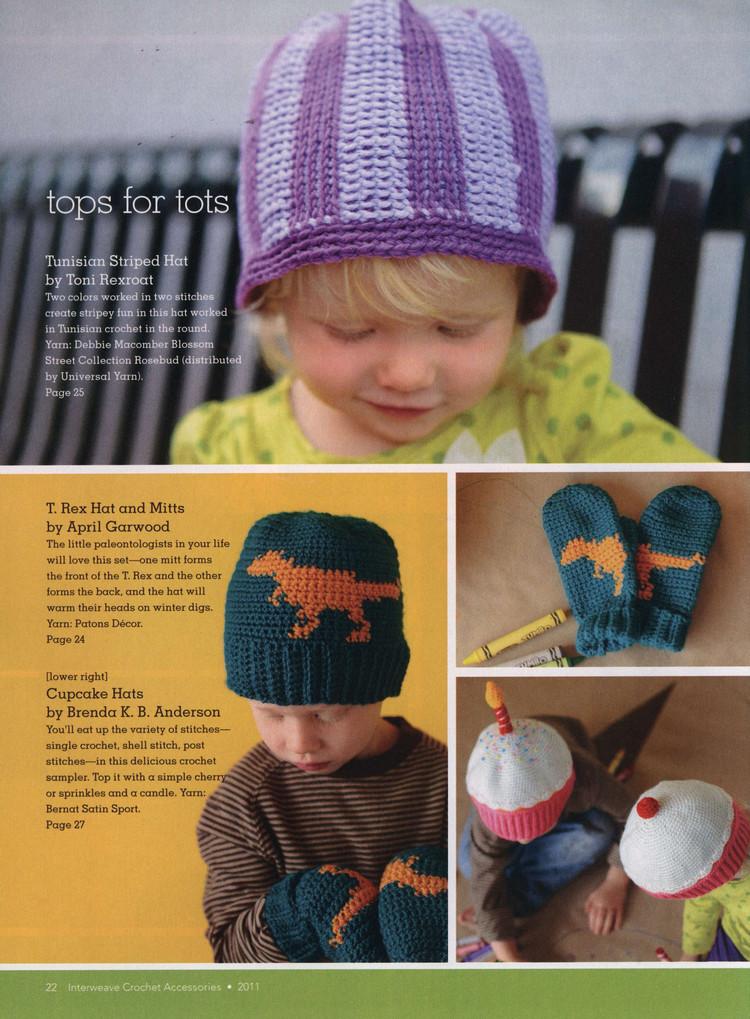 Cute Hats For Kids Crochet Patterns