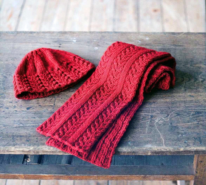 Knit Hat Scarf Pattern   Design Patterns
