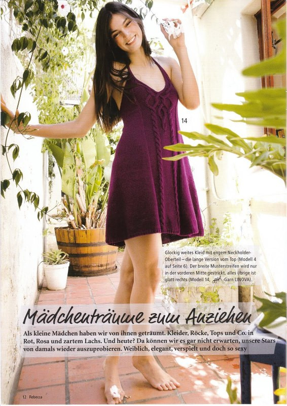 sweet dresses for girls, knitting patterns