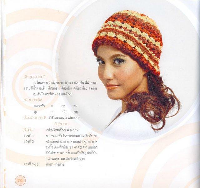 Модные шапки и шляпки крючком для девушек: подборка схем