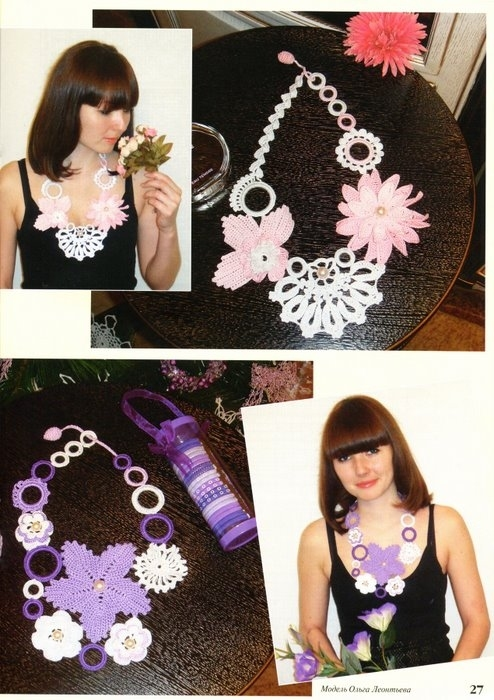 crochet jewelry for girls