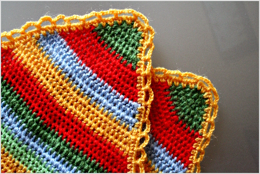Free Kitchen Crochet Patterns, dish cloths, hot pads, placemats