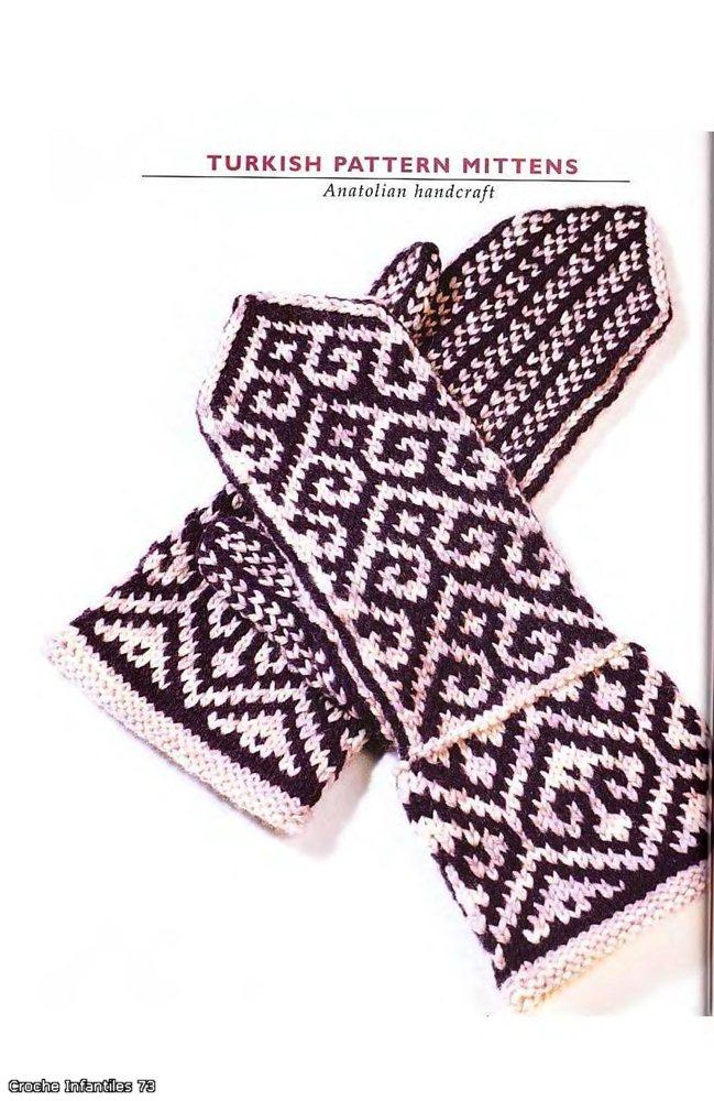 "TLC Home ""Free Fun Felted Mittens Knitting Pattern"""