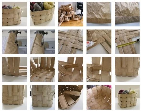 Изготовление корзины
