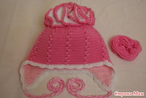 crochet flap hat for kids