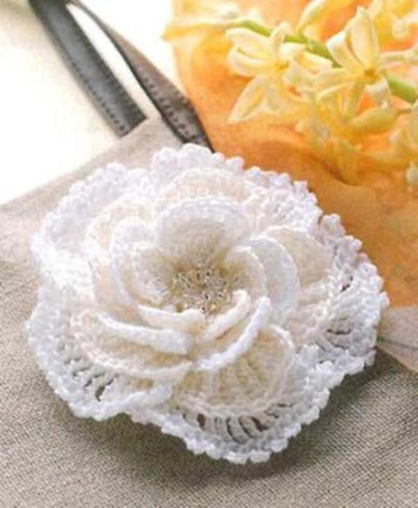 crochet flower: more patterns and diagrams