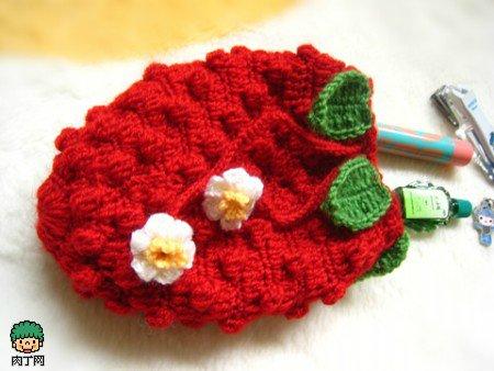 crochet pineapple purse