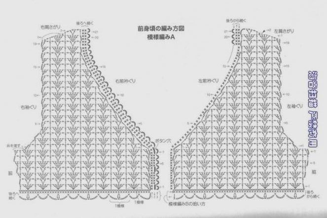 开衫 - Malinda - Malinda的编织博客