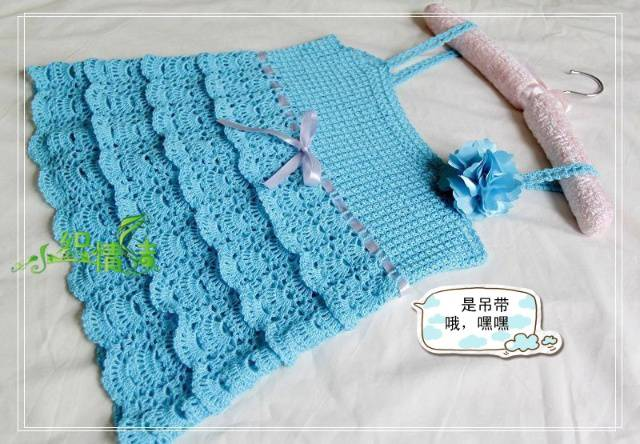 cute dress, skirt for kids, crochet pattern: kids craft ...