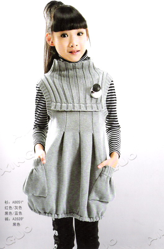bf0dcb309 cute knitting winter dresses for baby girls - crafts ideas - crafts ...