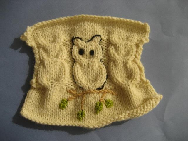 fall crafts ideas: knitting owl more ideas