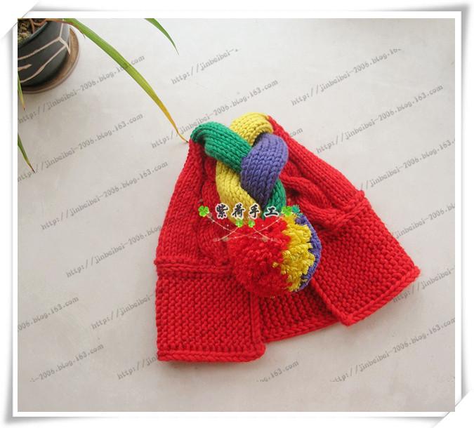 金贝贝的手工2013、001----------五彩童年之帽子 - 金贝贝 - 金贝贝的博客