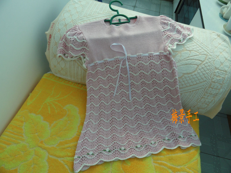 看图仿衣.女孩泡泡袖公主裙 - 梅景 - meijing5759的博客
