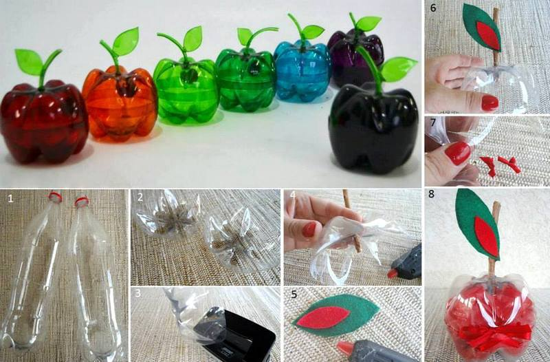 recycling plastic bottles creative and clever with