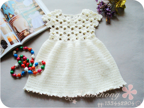 beautiful baby dress crochet pattern