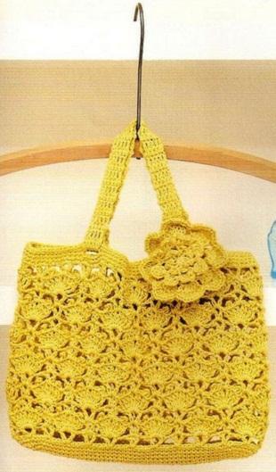 crochet cute bag, crochet pattern
