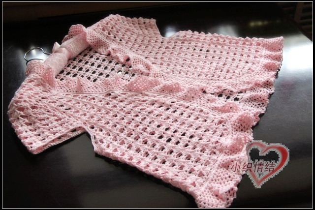 crochet baby bolero and cardigan