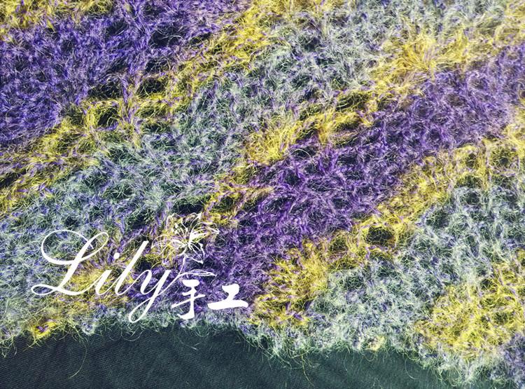 【Lily手工】--菠萝蜜--段染马海之美-201336 - Lily - lily.meng的博客