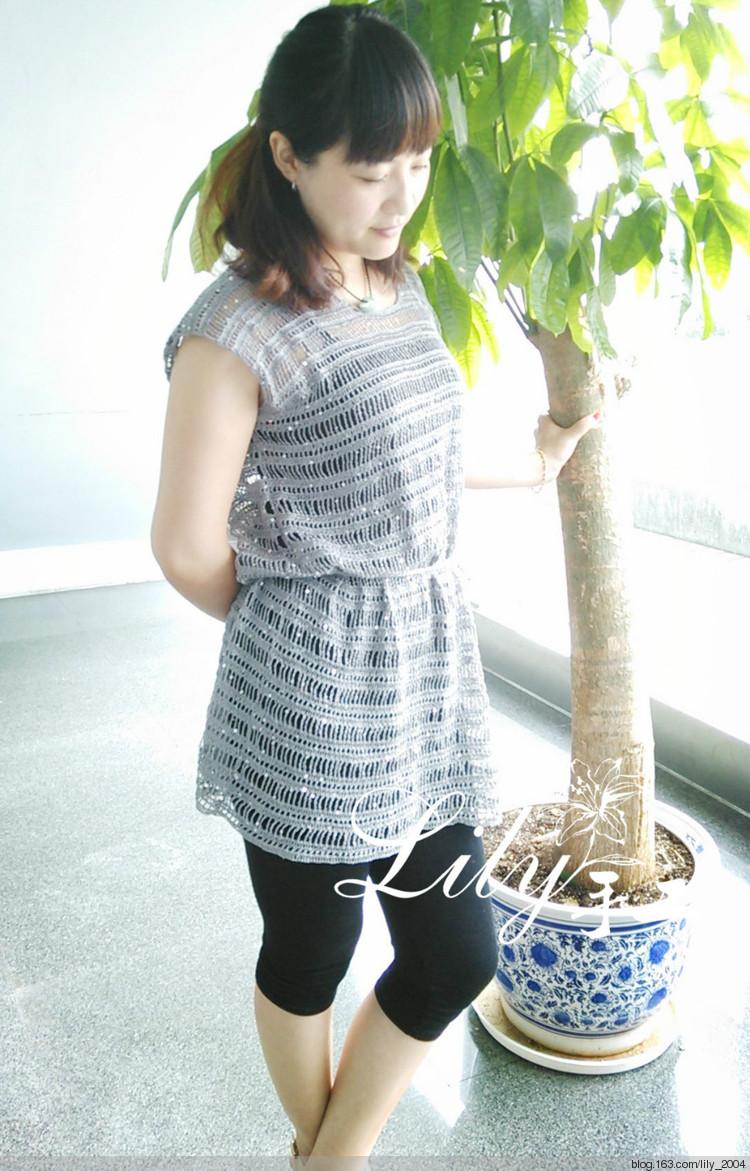 【Lily手工】--粼波--亮片休闲套衫--201323 - Lily - lily.meng的博客