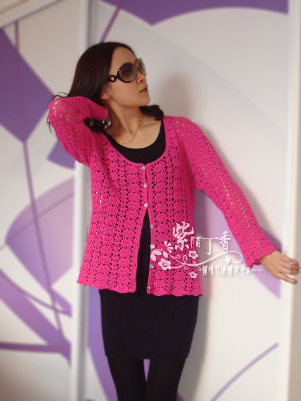 crochet charming lace vest for spring and winter
