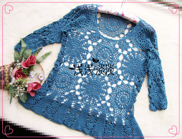 crochet lace fahion for girl