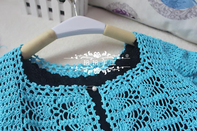 碧萝--- 极喜欢的一款钩针开衫小披14-09 - 玲玲 - 玲玲